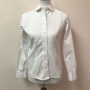 BROOKS BROTHERS | WESTERN WHITE BUTTON UP BLOUSE